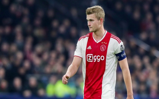 Liverpool interest in De Ligt confirmed but no plans to bid for him