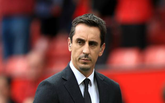 "Gary Neville surprisingly claims ""there's an opportunity for Liverpool here to step clear"""