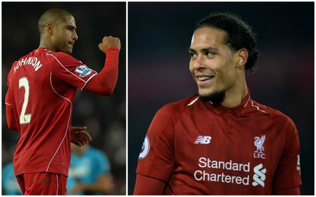 Glen Johnson offers thoughts on the Van Dijk effect at Liverpool