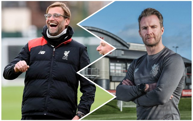 Reds fans will love academy director's comments on what it's really like to work with Jurgen Klopp