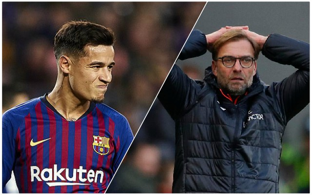 The big amount Liverpool stand to lose if Coutinho leaves Barca