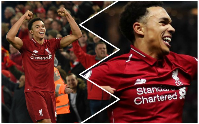 Trent Alexander-Arnold speaks brilliantly on the Premier League title race