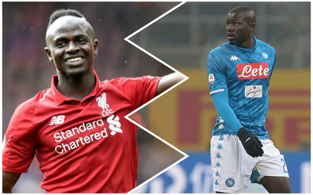 Reds will love Mane's reaction to Koulibaly transfer plea