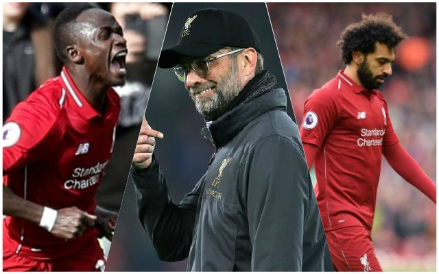 Klopp has a simple explanation for Mane and Salah's current form