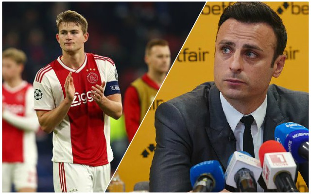 Ex-United man claims Reds have big advantage in De Ligt chase