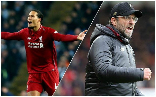 'We're ready': Van Dijk issues the perfect pre-derby message
