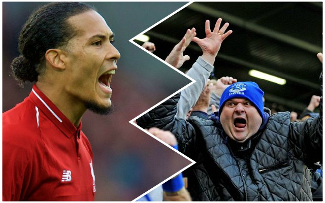 Van Dijk takes a dig at Everton fans and says Reds will 'go again'