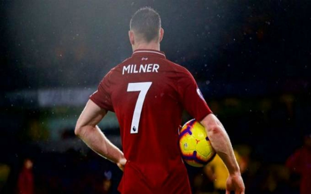 "Milner wants Liverpool to ""start where we left off"" against Spurs"