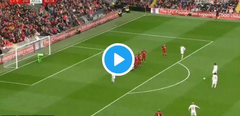(Video) Pirlo scores fantastic free-kick vs. Liverpool in legends match