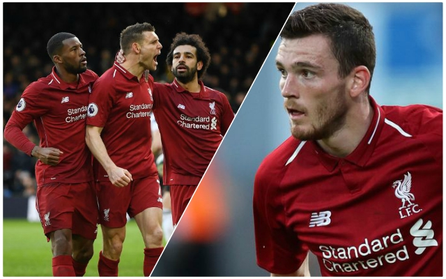 "Andy Robertson aims to ""pitch in as well"" with goals after Fulham win"