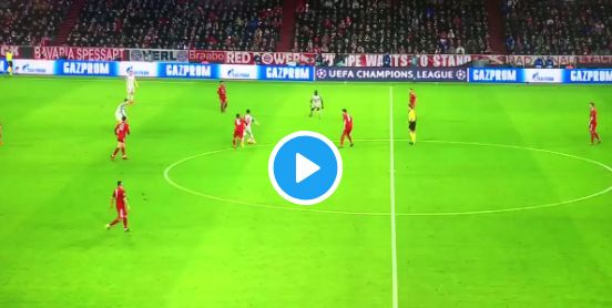 (Video) Sadio Mane skins 5 Bayern defenders with silky skills that last 20 seconds