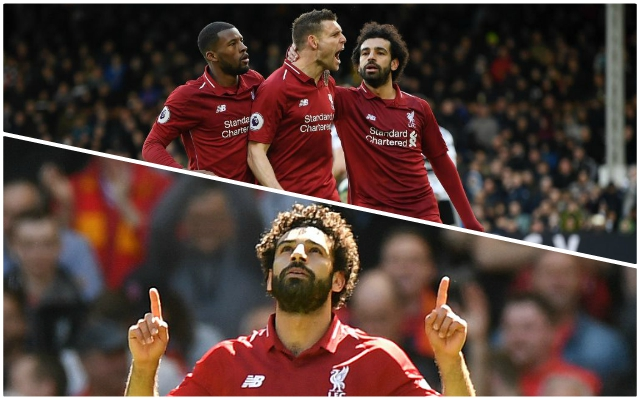 Mo Salah's barren run continues despite 2-1 victory at Fulham