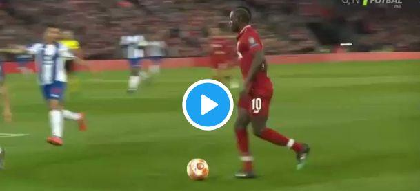 (Video) Keita scores deflected goal vs. Porto; Mane with the assist