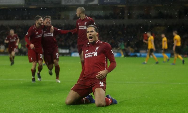 Virgil van Dijk voted PFA Player of the Year 2018/19