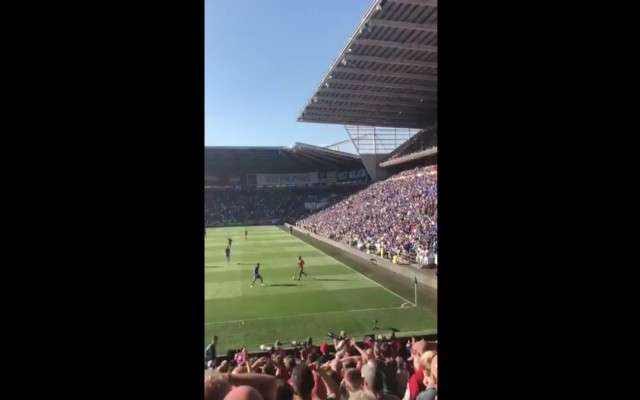 (Video) – Reds fans hand PL debut to amazing new Champions League chant