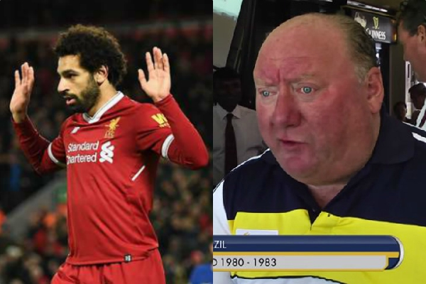 Alan Brazil accuses Salah of trying to injure Porto player on purpose