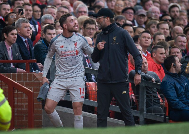 'Sorry…' Klopp apologises to Henderson after midfielder's superb outing