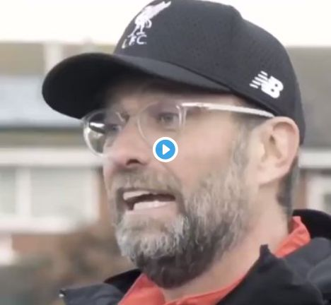 (Video) Klopp is physically repulsed by Manchester Utd fans