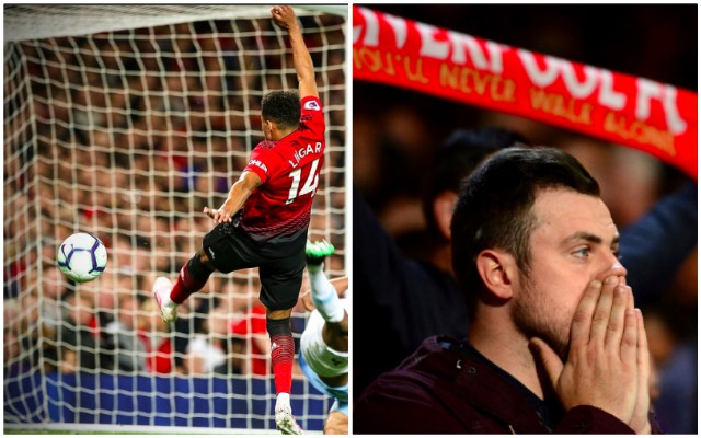 'If they despised him before, God knows what they think now…' How Reds & non-Reds reacted to Lingard's open-goal miss