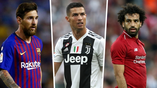 Ronaldo rates Mo Salah above CR7 and just behind Lionel Messi