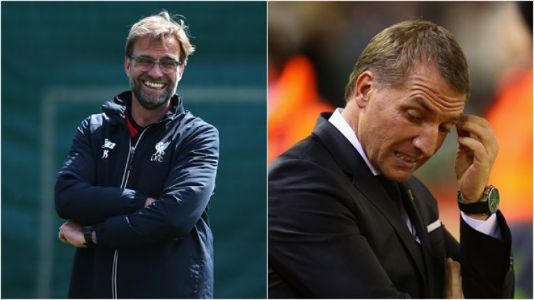 Brendan Rodgers begins his Title-Race mind-games with Klopp…