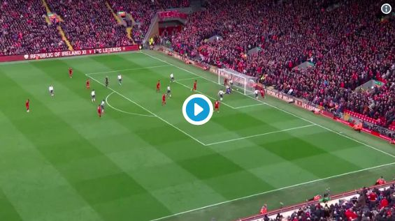 (Video) Better angle of VVD kicking ball out of Anfield goes viral