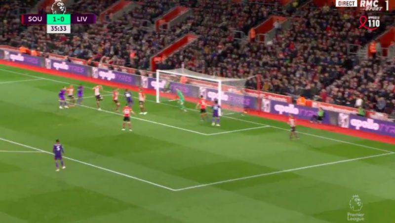 (Video) Keita scores crucial headed goal v Southampton with Trent's cross beautiful