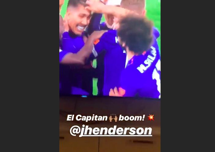(Video) Oxlade-Chamberlain loved Hendo's Southampton goal…