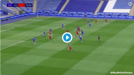 (Video) Brewster scores in 5th minute v Leicester after Oxlade-Chamberlain almost scores stunner