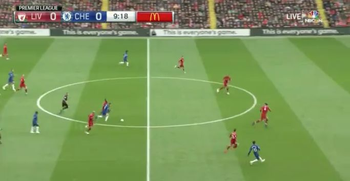 (Video) – Fabinho's epic early tackle on Hazard gets Anfield on its feet