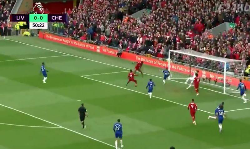 (Video) – Mané heads in opening goal from sublime Hendo ball