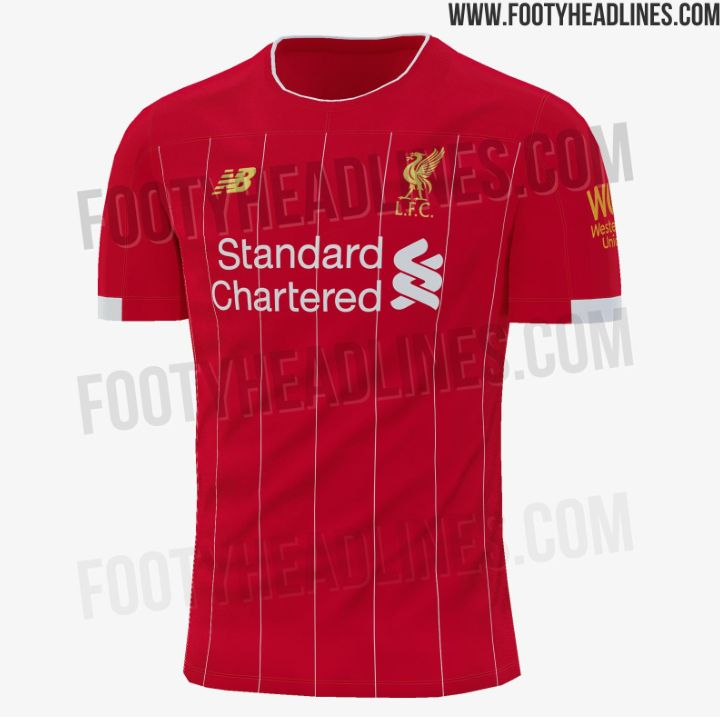 buy online 50013 4e427 Liverpool's 2019-20 New Balance home kit reportedly leaked