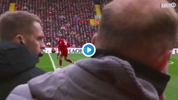 (Video) Amazing new angle of Mo Salah's wondergoal surfaces