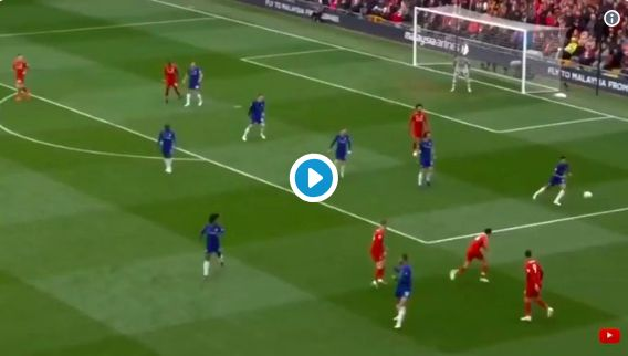 (Video) Fabinho's shoulder pass in lead up to Mane's goal largely ignored