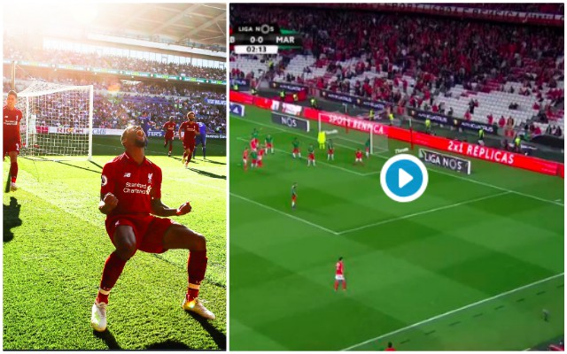 (Video) LFC target Joao Felix scored Gini Wijnaldum copycat goal to underline immense potential