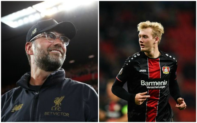 Liverpool in three-way tussle for Julian Brandt who remains coy on his future