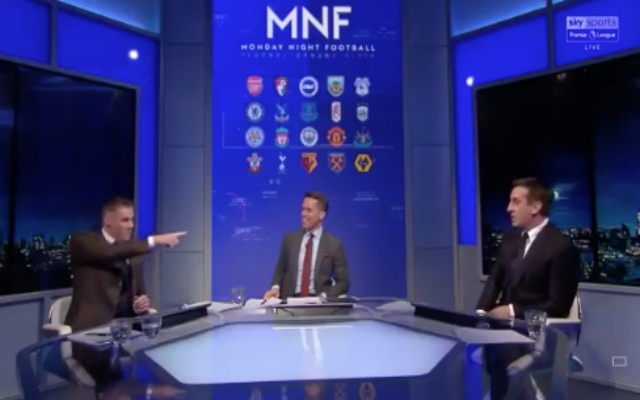 Carra right to challenge Neville after he claims United could rest players for City game