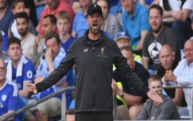 Klopp gives midfield injury update in the wake of Cardiff victory