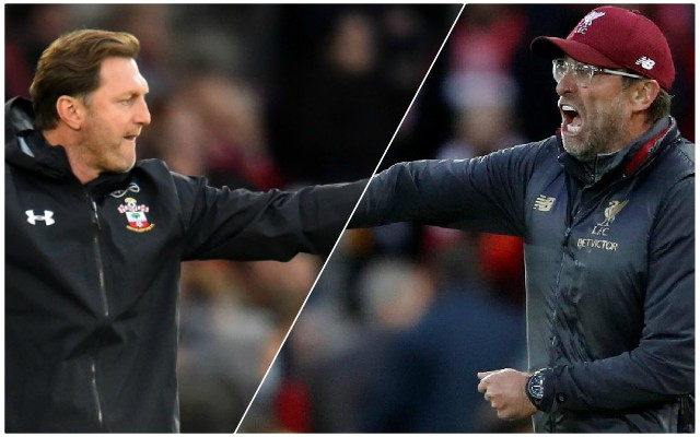 """Klopp claims Saints are """"eighth in the form table"""" ahead of clash at St Mary's"""