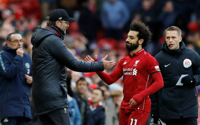 French journalist outrageously claims Salah no longer gets on with Klopp