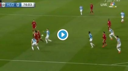 (Video) Ox inches away from lovely goal on return after over one year out