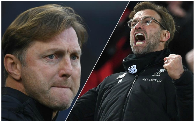 Hasenhüttl's fearlessness could play into Liverpool's hands at St Mary's