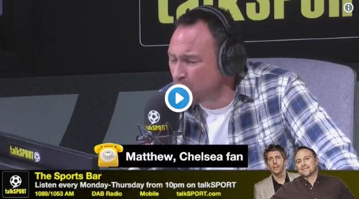 Chelsea fan tries to defend racist Salah chant; Jason Cundy rips him apart