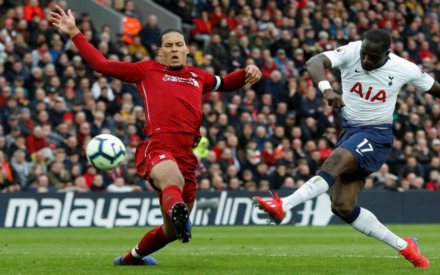 Reds fan rejoice as Van Dijk gives Alisson a run for his money
