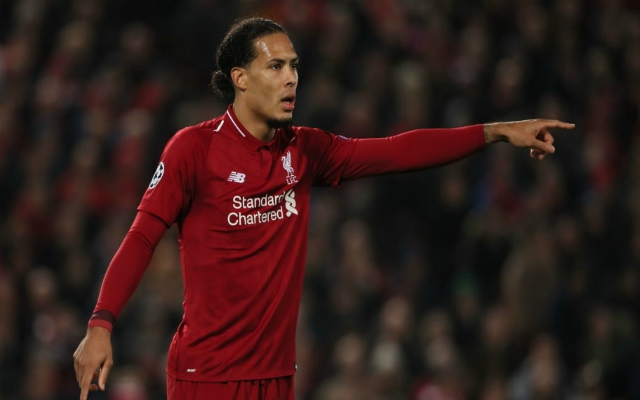 "Calm as you like Van Dijk insists Reds ""try to keep a cool head"" in every game"
