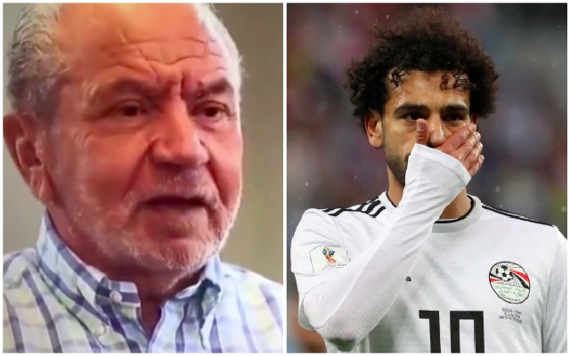 Alan Sugar wouldn't take 'useless' Mo Salah at Spurs