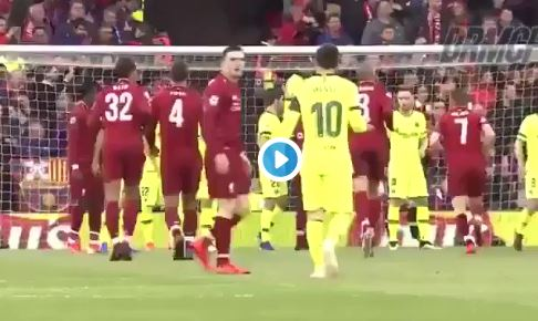 (Video) Reds fans will love what Hendo did when Messi started on Robbo