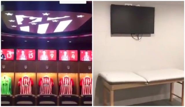 (Videos) LFC given beautiful home dressing-room for CL Final while Spurs slum it in the away