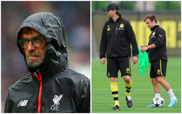 Klopp explains 'exceptional' Gotze transfer situation: 'Mario will probably need a few games in a row…'