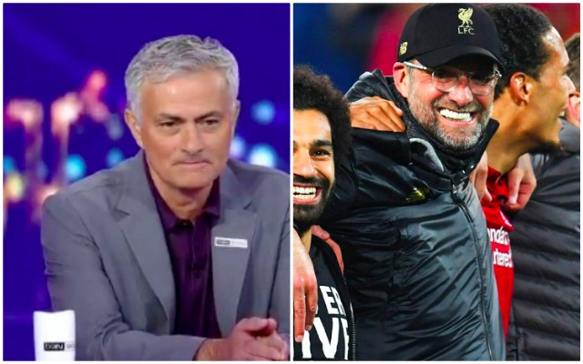 (Video) Mourinho lauds Klopp; Jose provides epic post-match salute of 'Jurgen's mentality'